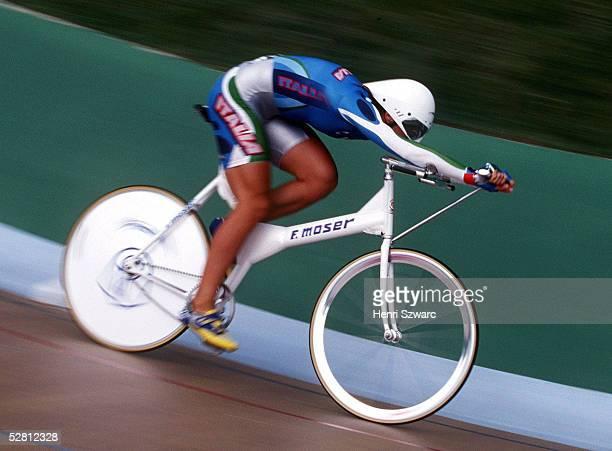 Einzelverfolgung Frauen 3000m ATLANTA 1996 am 27796 Antonella BELLUTTI ITA/GOLD