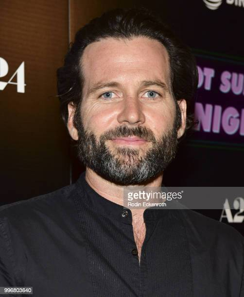 Eion Bailey arrives at the screening of A24's 'Hot Summer Nights' at Pacific Theatres at The Grove on July 11 2018 in Los Angeles California