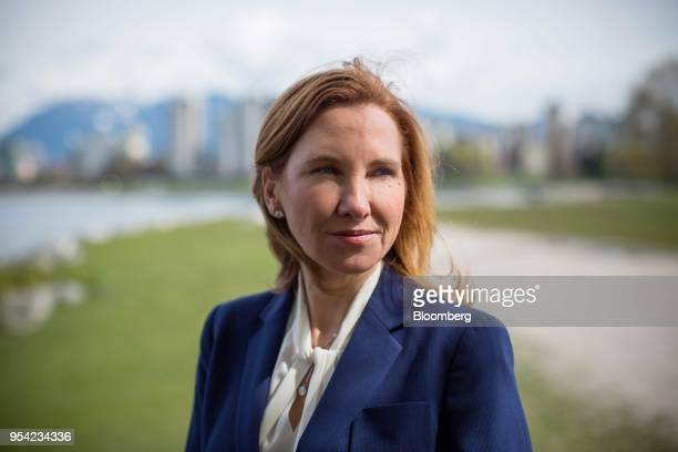 Eira Thomas president and chief executive officer of Lucara Diamond Corp stands for a photograph in Vancouver British Columbia Canada on Thursday...
