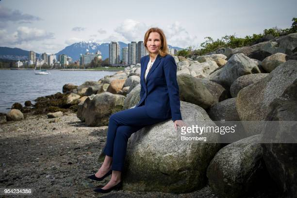 Eira Thomas president and chief executive officer of Lucara Diamond Corp sits for a photograph in Vancouver British Columbia Canada on Thursday April...