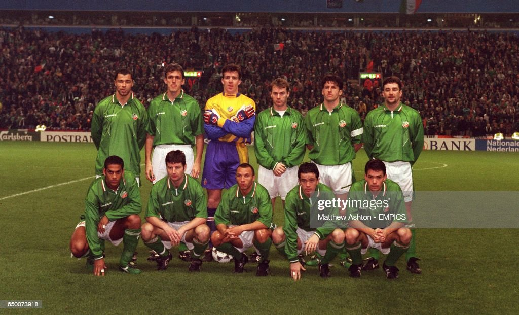 EURO 96 - EIRE V NETHERLANDS, ANFIELD : News Photo