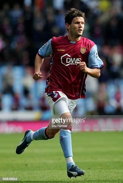 Eirik Bakke of Aston Villa during the Barclays Premiership match between Aston Villa and Middlesbrough at Villa Park on October 2 2005 in Birmingham...