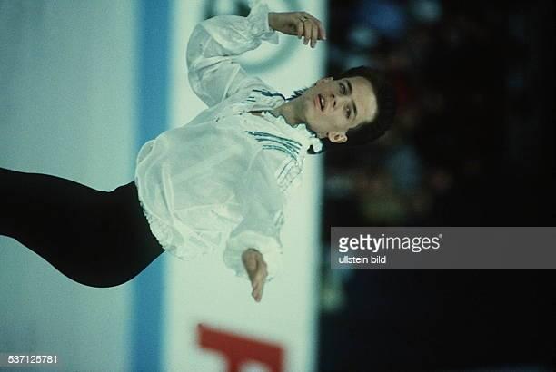 1966 Eiskunstläufer CDN in Aktion bei der WM in München 1991