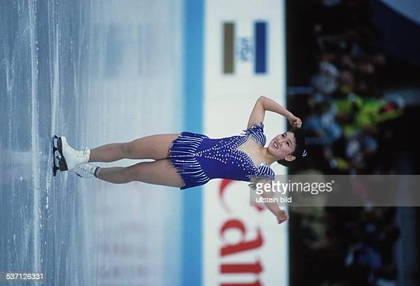 Eiskunstläuferin Japan bei der WM in München 1991