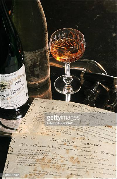 Eiswein Ice Wine Of Egon Muller On November 1St 1998 In Germany