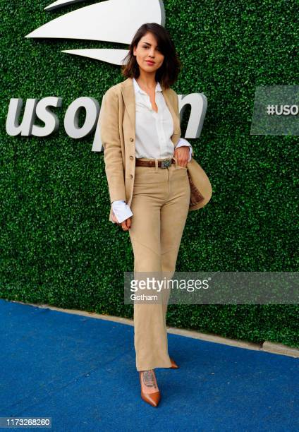 Eiza Gonzales at 2019 US Open Final on September 08, 2019 in New York City.