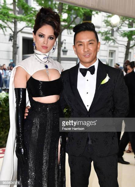 Eiza Gonzalez and Prabal Gurung attend the Heavenly Bodies: Fashion & The Catholic Imagination Costume Institute Gala at The Metropolitan Museum of...