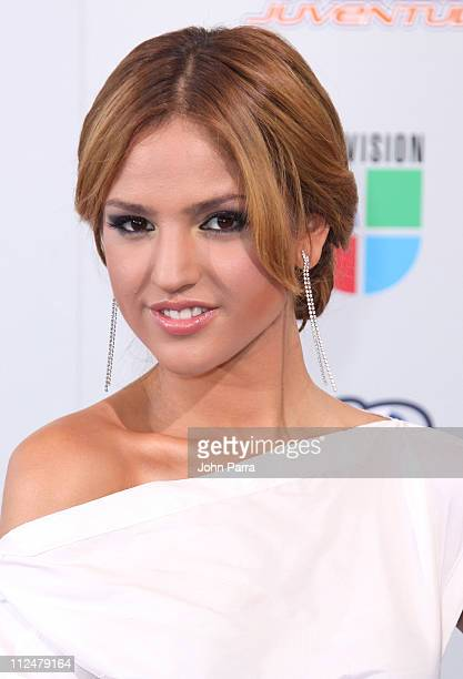 Eiza Gonzalez arrives at Univisions 2009 Premios Juventud Awards at Bank United Center on July 16 2009 in Coral Gables Florida