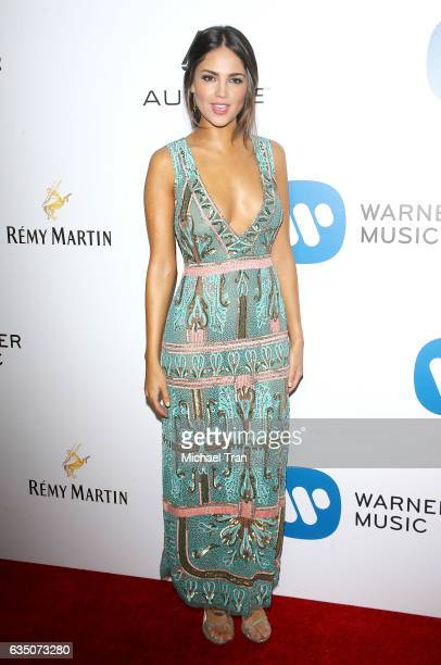 Eiza Gonzalez arrives at Warner Music Group's Annual GRAMMY Celebration held at Milk Studios on February 12 2017 in Hollywood California