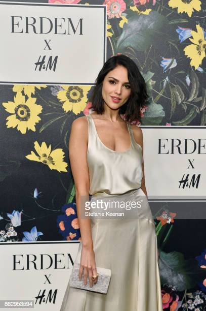 Eiza Gonzalez at HM x ERDEM Runway Show Party at The Ebell Club of Los Angeles on October 18 2017 in Los Angeles California