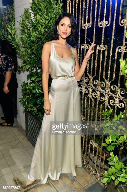 Eiza Gonzalez at H&M x ERDEM Runway Show & Party at The Ebell Club of Los Angeles on October 18, 2017 in Los Angeles, California.