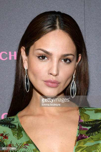 Eiza Gonzalez attends Lorraine Schwartz launches The Eye Bangle a new addition to her signature Against Evil Eye Collection at Delilah on March 13...