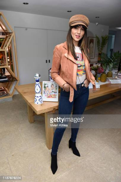 """Eiza Gonzalez attends Sakara Life + Rothy's Celebrate """"Eat Clean Play Dirty"""" Cookbook Launch on April 16, 2019 in Beverly Hills, California."""