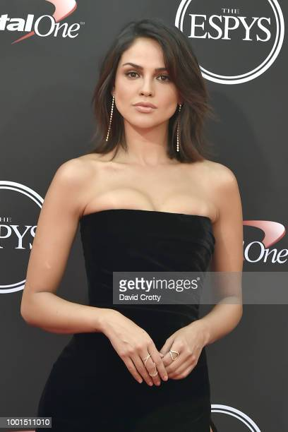 Eiza Gonzalez attends The 2018 ESPYS at Microsoft Theater on July 18 2018 in Los Angeles California