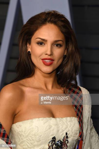 Eiza Gonzalez attends the 2018 Vanity Fair Oscar Party hosted by Radhika Jones at the Wallis Annenberg Center for the Performing Arts on March 4 2018...