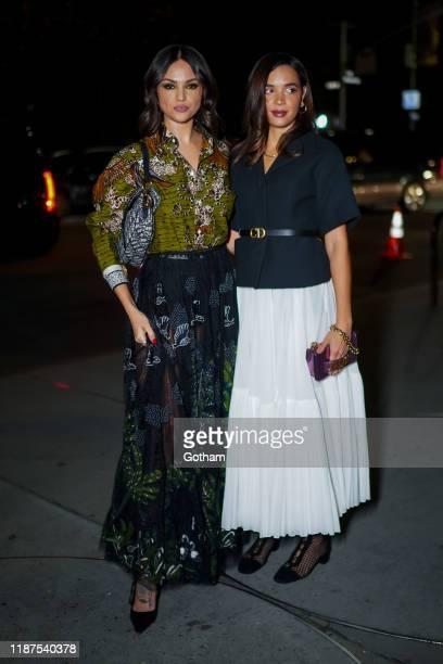 Eiza Gonzalez attends the 2019 Guggenheim International Gala on November 13 2019 in New York City