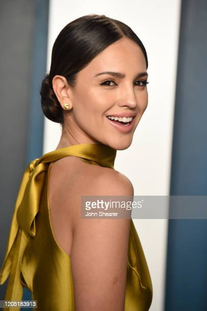 Eiza Gonzalez attends the 2020 Vanity Fair Oscar Party hosted by Radhika Jones at Wallis Annenberg Center for the Performing Arts on February 09,...