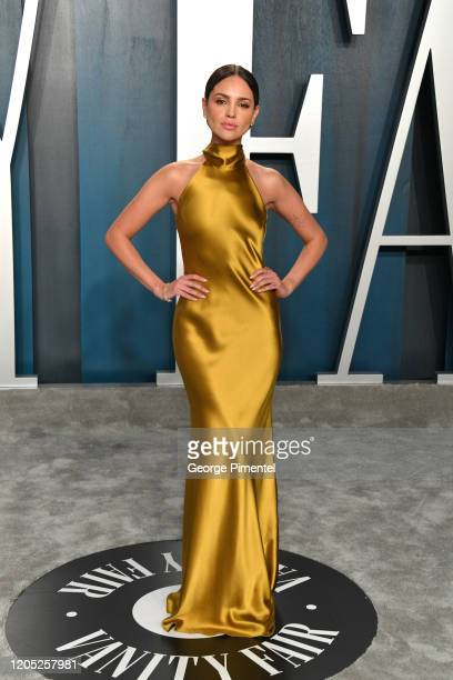 Eiza Gonzalez attends the 2020 Vanity Fair Oscar party hosted by Radhika Jones at Wallis Annenberg Center for the Performing Arts on February 09 2020...