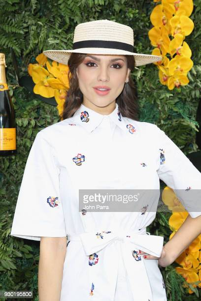 Eiza Gonzalez attends the 4th Annual Veuve Clicquot Carnaval at Museum Park on March 10 2018 in Miami Florida
