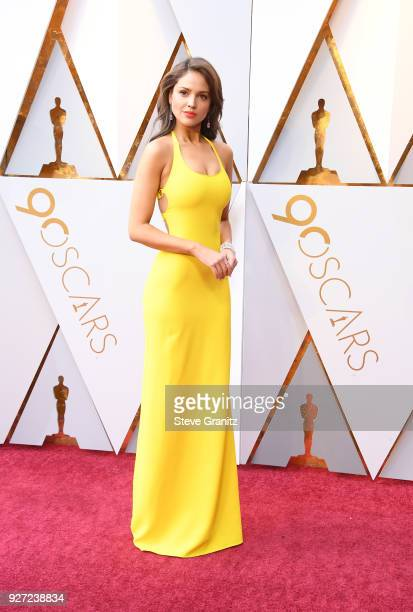Eiza Gonzalez attends the 90th Annual Academy Awards at Hollywood Highland Center on March 4 2018 in Hollywood California