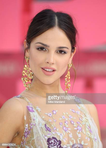 Eiza Gonzalez attends the European premiere of Baby Driver on June 21 2017 in London United Kingdom