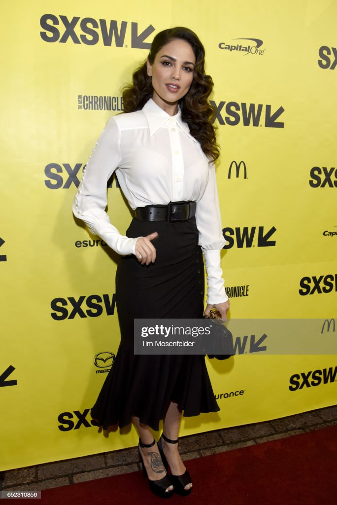 Eiza Gonzalez attends the Film premiere of 'Baby Driver' during 2017 SXSW Conference and Festivals at the Paramount Theater on March 11, 2017 in Austin, Texas.