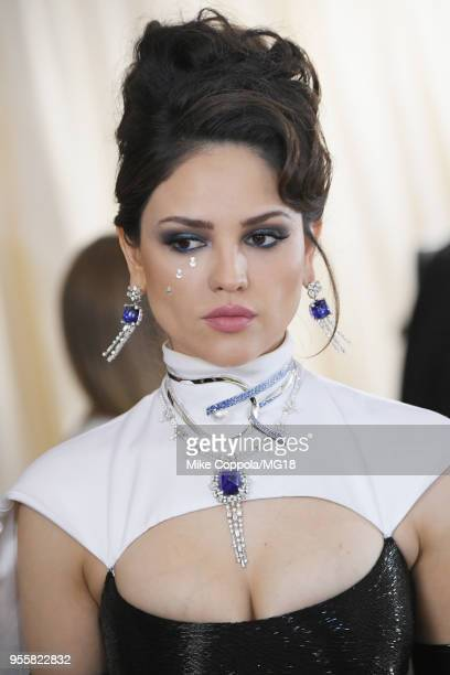 Eiza Gonzalez attends the Heavenly Bodies Fashion The Catholic Imagination Costume Institute Gala at The Metropolitan Museum of Art on May 7 2018 in...