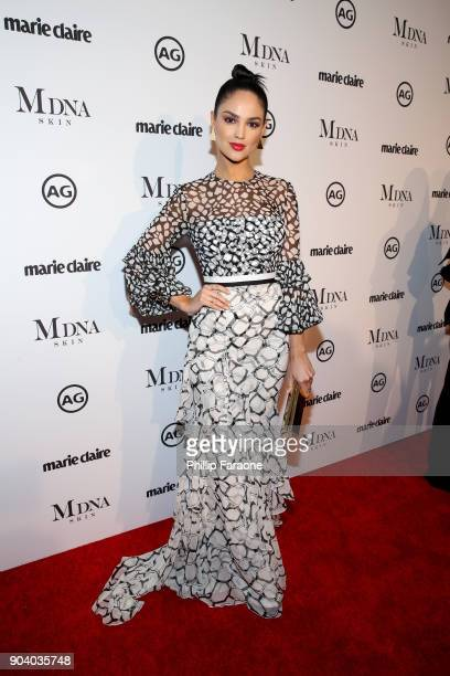 Eiza Gonzalez attends the Marie Claire's Image Makers Awards 2018 on January 11 2018 in West Hollywood California