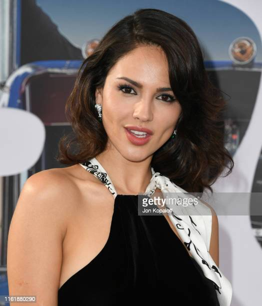 Eiza Gonzalez attends the Premiere Of Universal Pictures' Fast Furious Presents Hobbs Shaw at Dolby Theatre on July 13 2019 in Hollywood California