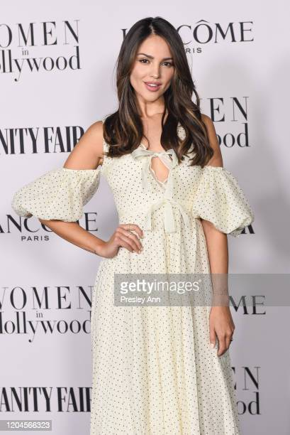 Eiza Gonzalez attends the Vanity Fair and Lancôme Women in Hollywood celebration at Soho House on February 06 2020 in West Hollywood California