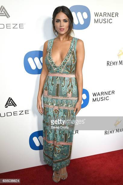 Eiza Gonzalez attends the Warner Music Group's 2017 GRAMMY Celebration Arrivals at Milk Studios on February 12 2017 in Hollywood California