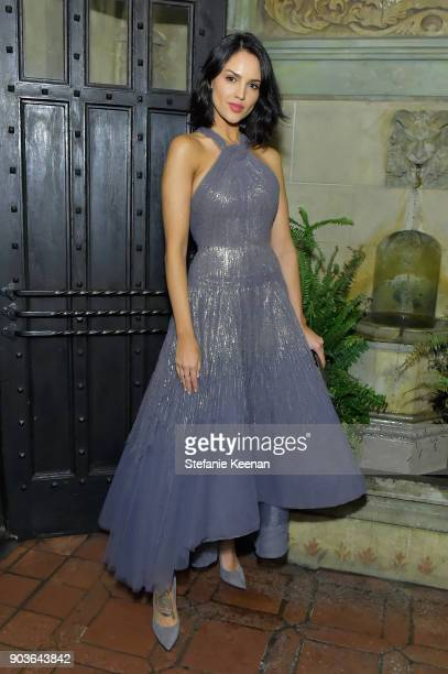 Eiza Gonzalez attends Vanity Fair And Focus Features Celebrate The Film Phantom Thread with Paul Thomas Anderson at the Chateau Marmont on January 10...