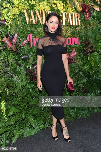 Eiza Gonzalez attends Vanity Fair x Instagram Celebrate the New Class of Entertainers at Mel's Diner on Golden Globes Weekend at Mel's Diner on...