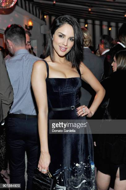 Eiza Gonzalez attends W Magazine's Celebration of its 'Best Performances' Portfolio and the Golden Globes with Audi Dior and Dom Perignon at Chateau...
