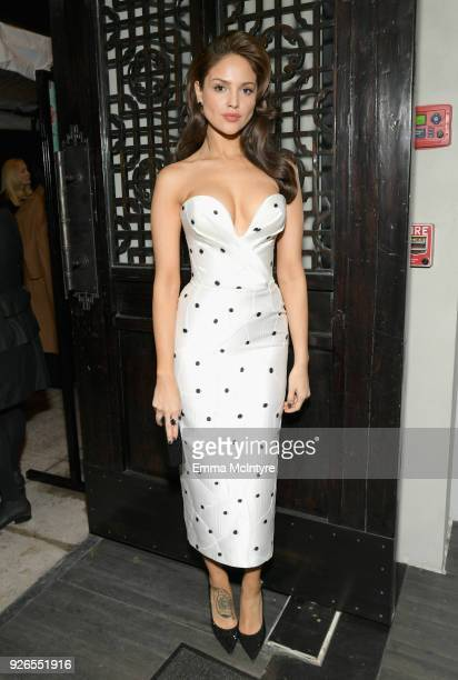Eiza Gonzalez attends Women In Film PreOscar Cocktail Party presented by Max Mara and Lancome with additional support from Crustacean Beverly Hills...