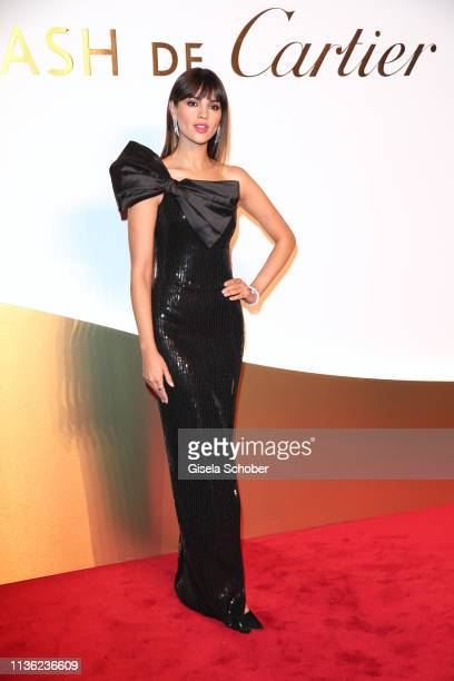 Eiza Gonzalez during the Clash de Cartier event at la Conciergerie on April 10 2019 in Paris France
