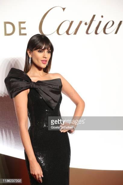 Eiza Gonzalez during the Clash de Cartier event at la Conciergerie on April 10 2019 in Paris France