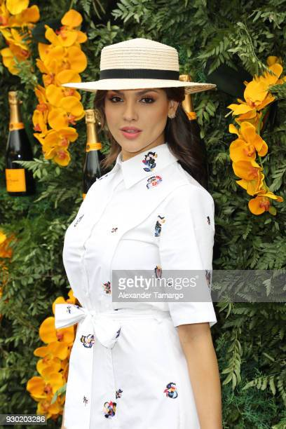 Eiza Gonzalez is seen at the Veuve Clicquot Fourth Annual Clicquot Carnaval Supporting the Perez Art Museum Miami at Museum Park on March 10 2018 in...