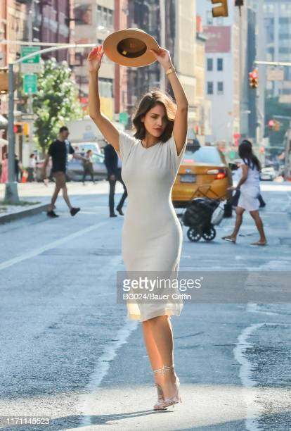 Eiza Gonzalez is seen on September 25 2019 in New York City