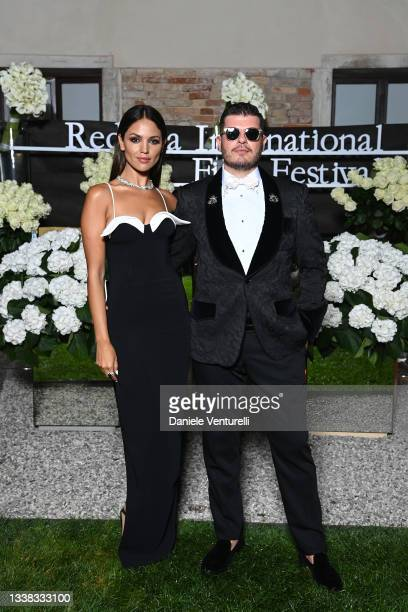 Eiza González and Eli Mizrahi attend the Celebration of Women in Cinema Gala hosted by The Red Sea Film Festival during the 78th Venice International...