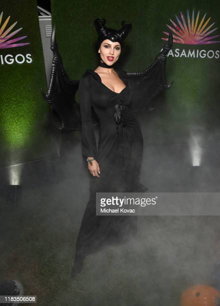 Eiza González attends the 2019 Casamigos Halloween Party on October 25 2019 at a private residence in Beverly Hills California