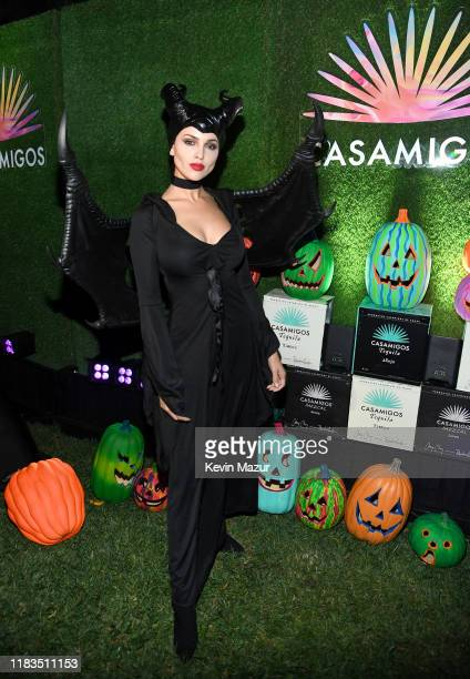 Eiza González attends the 2019 Casamigos Halloween Party on October 25, 2019 at a private residence in Beverly Hills, California.