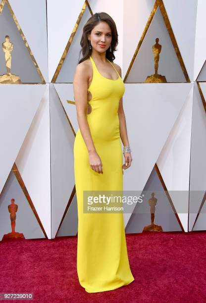 Eiza González attends the 90th Annual Academy Awards at Hollywood & Highland Center on March 4, 2018 in Hollywood, California.