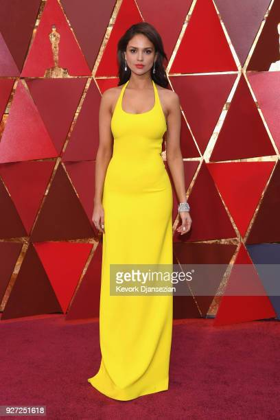Eiza González attends the 90th Annual Academy Awards at Hollywood Highland Center on March 4 2018 in Hollywood California