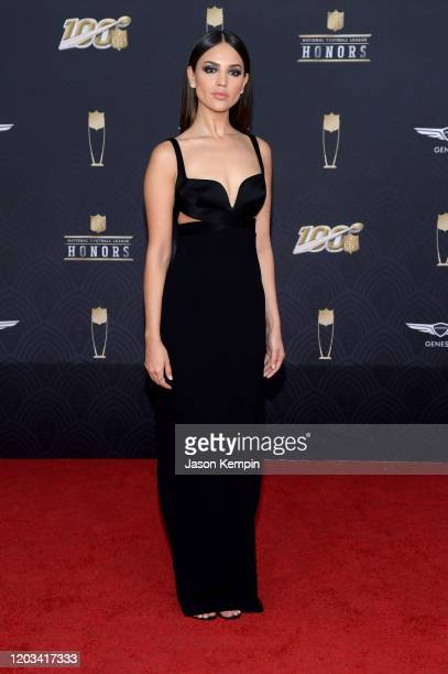 Eiza González attends the 9th Annual NFL Honors at Adrienne Arsht Center on February 01 2020 in Miami Florida