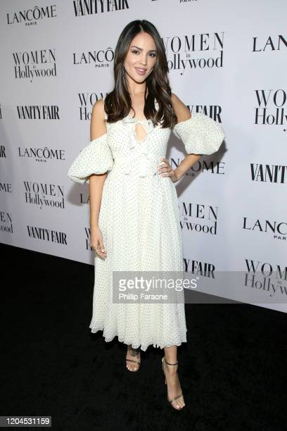 Eiza González attends Vanity Fair and Lancôme Toast Women in Hollywood on February 06 2020 in Los Angeles California