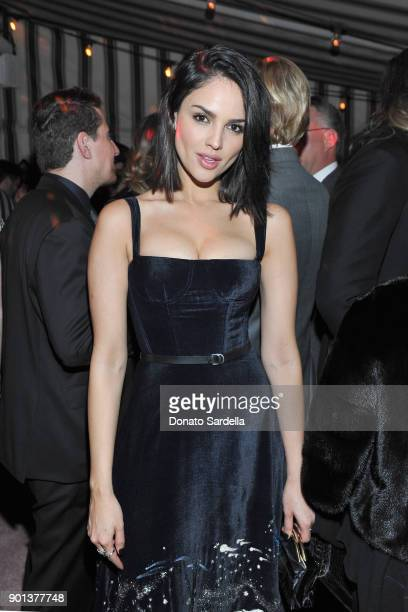 Eiza González attends W Magazine's Celebration of its 'Best Performances' Portfolio and the Golden Globes with Audi Dior and Dom Perignon at Chateau...
