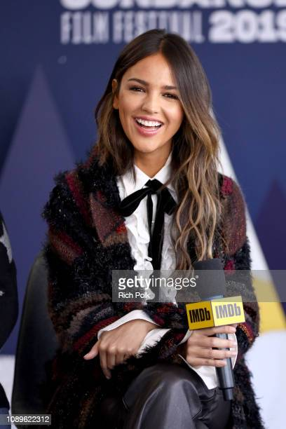 Eiza González of 'Paradise Hills' attends The IMDb Studio at Acura Festival Village on location at The 2019 Sundance Film Festival - Day 2 on January...