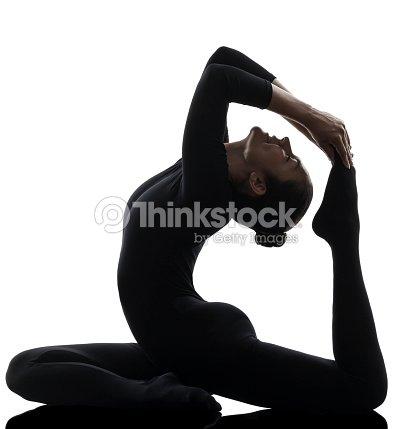 eka pada rajakapotasana une posture du pigeon yoga woman