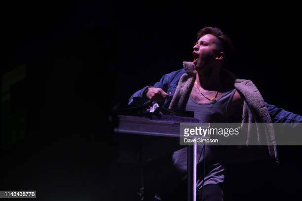 Ekali performs at Spark Arena on April 18 2019 in Auckland New Zealand